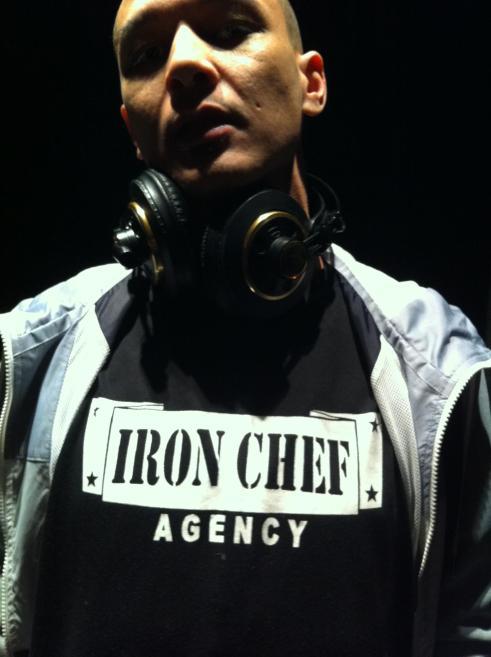 Dee iron chef t-shirt